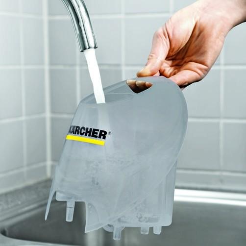 Пароочиститель SC 4 Premium + Iron Kit: Перезаполняемый съемный бак для воды