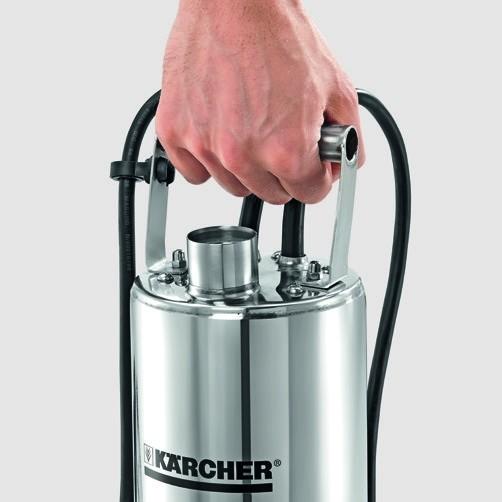 скважинный насос BP 2 Cistern: Корпус насоса, резьбовой штуцер и ручка из нержавеющей стали