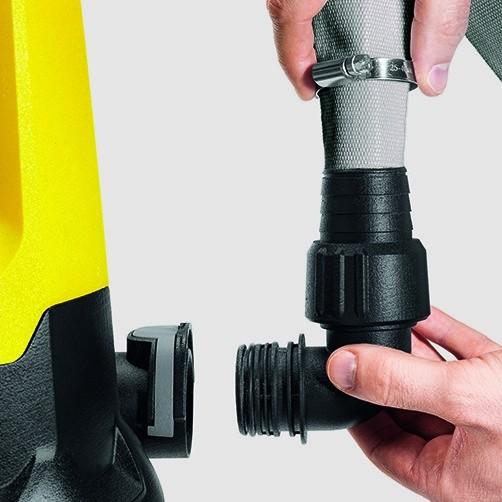 Дренажный насос для грязной воды SP 7 Dirt Inox: Система Quick Connect