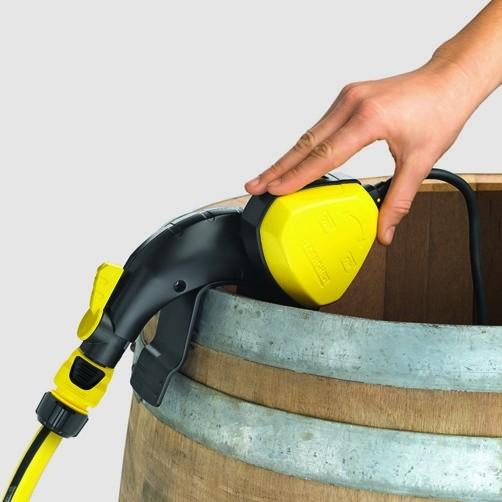 бочковой насос BP 1 Barrel: Отключение благодаря поплавковому выключателю