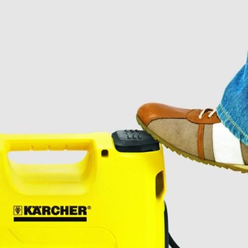 Садовый насос BP 3 Garden Set: Удобный ножной выключатель