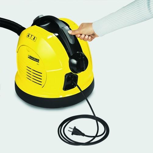 Пылесос VC 6: Автоматическое сматывание кабеля