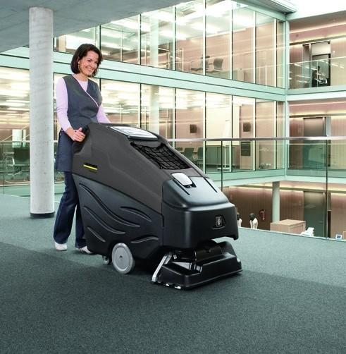 Аппарат для чистки ковров BRC 50/70 W Bp: Аккумуляторное питание