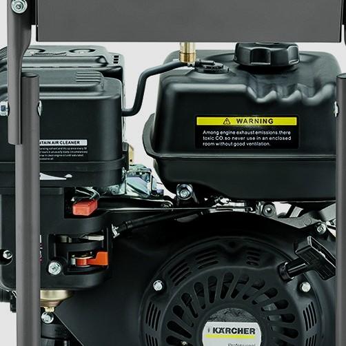 Аппарат высокого давления HD 7/20 G Classic: Продуманное хранение принадлежностей