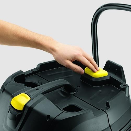 Пылесос влажной и сухой уборки NT 25/1 Ap: ApClean (система полуавтоматической очистки фильтра)