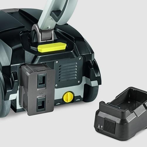 Поломоечная машина BD 30/4 C Bp Pack *EU: Мощная литий-ионная батарея