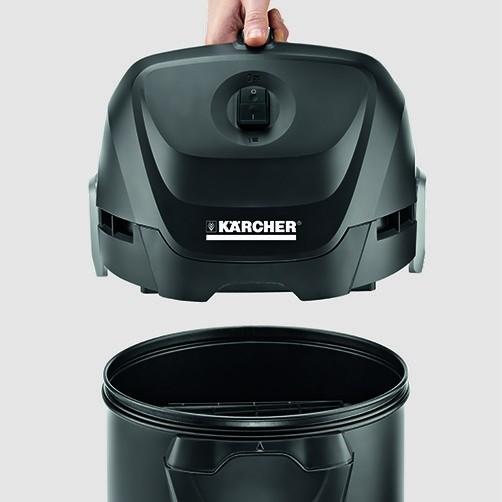 Пылесосы для золы AD 3 Premium: Жаропрочный материал, металлический контейнер и шланг