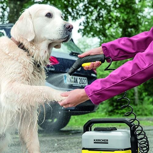 Mobile Outdoor Cleaner Портативная мойка: Эффективная и бережная мойка низким давлением