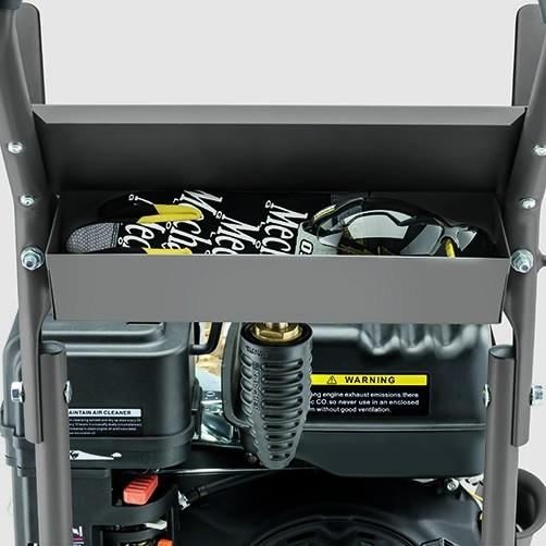 Аппарат высокого давления HD 8/23 G: Удобство хранения аксессуаров