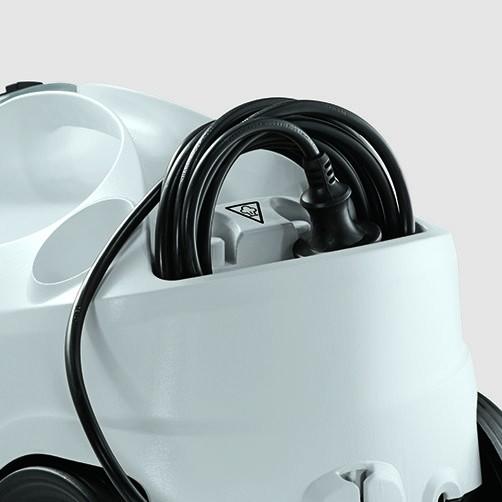 Пароочиститель SC 4 Premium + Iron Kit: Отсек для кабеля