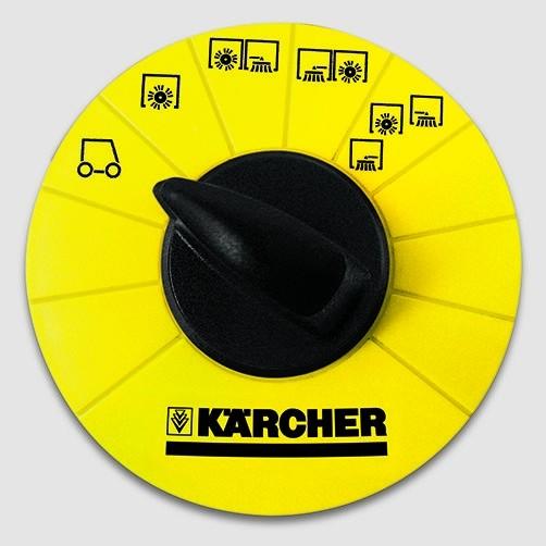 Подметально-всасывающая машина KM 130/300 D: Образцовая эргономичность