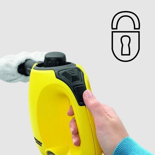 Пароочиститель SC 1: Защита от детей.