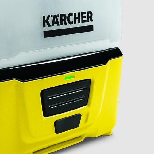 Mobile Outdoor Cleaner Портативная мойка: Встроенный литий-ионный аккумулятор