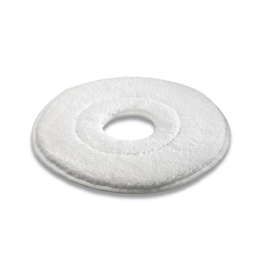 Микроволоконный пад, микроволокно, белый, 330 mm