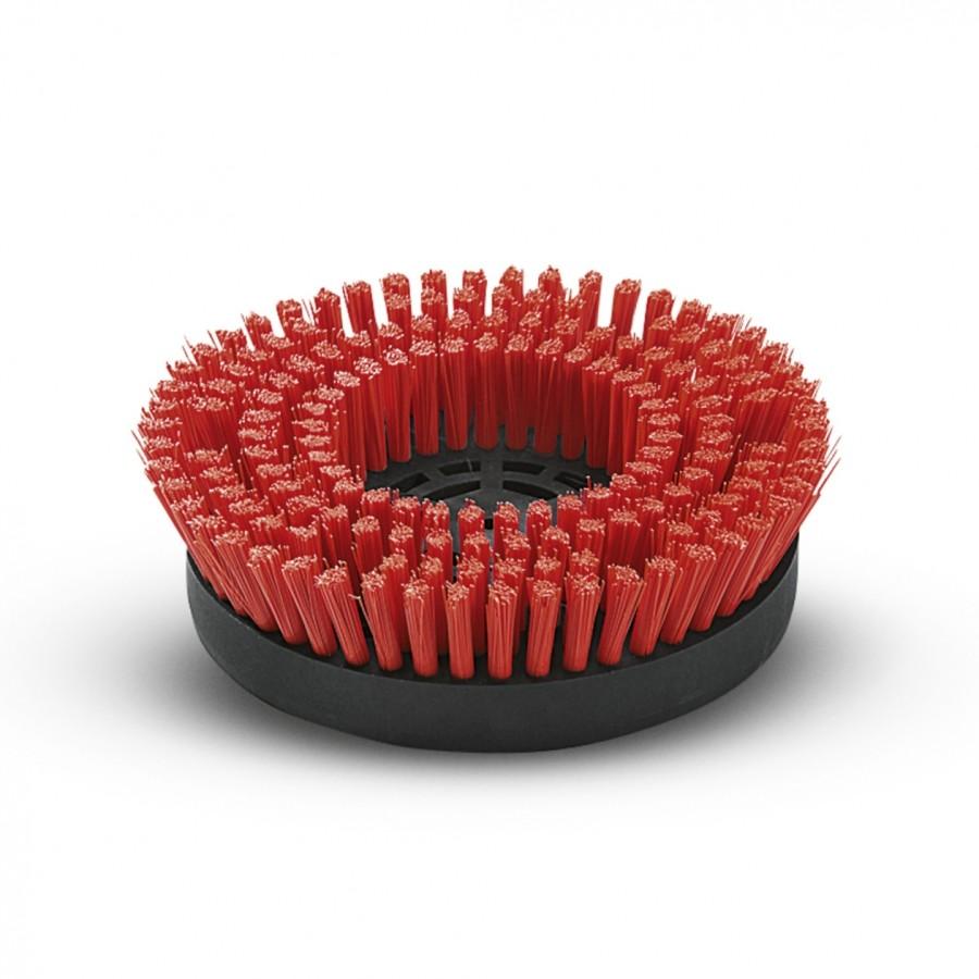 Дисковая щетка, средний, красный, 170 mm