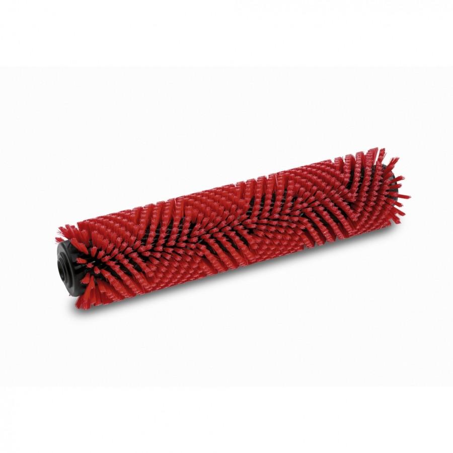 Цилиндрическая щетка, средний, красный, 400 mm