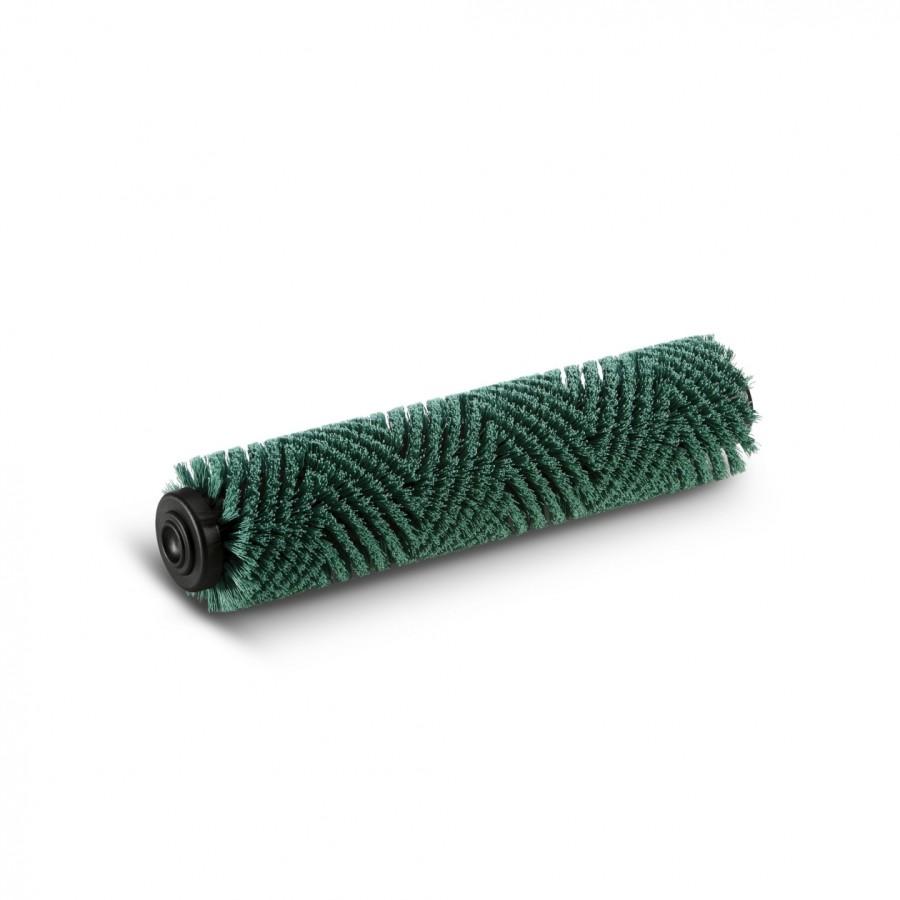 Цилиндрическая щетка, жесткий, зеленый, 400 mm