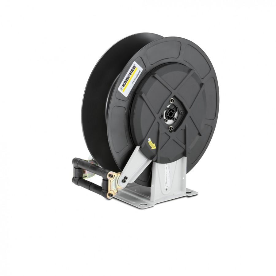 Автоматический барабан для шланга, из стали с порошковым покрытием / пластмассы