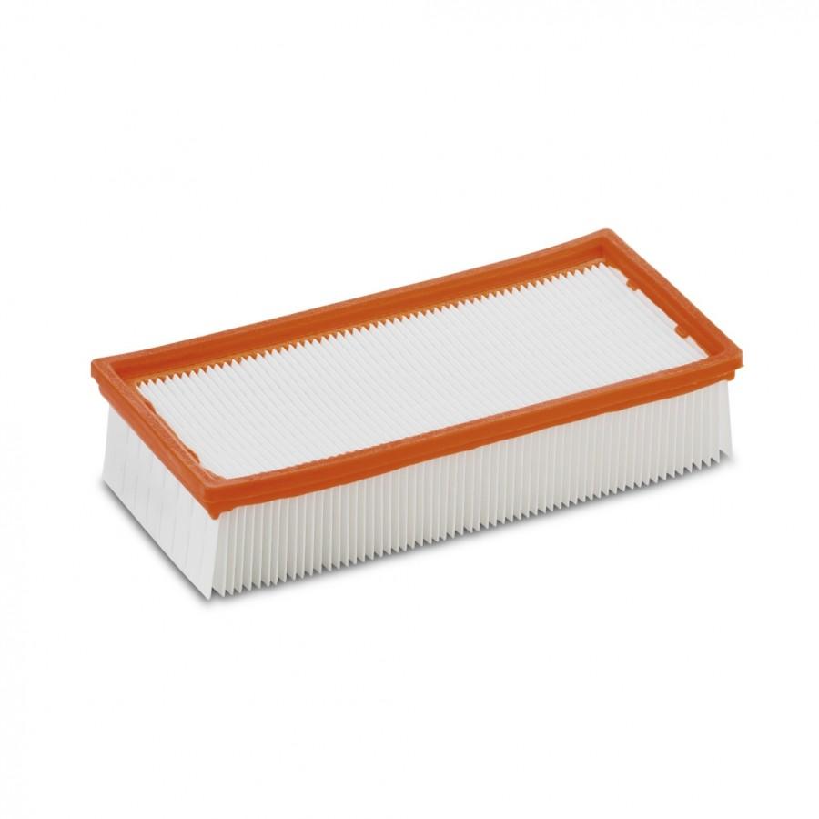 Плоский складчатый фильтр, бумажный