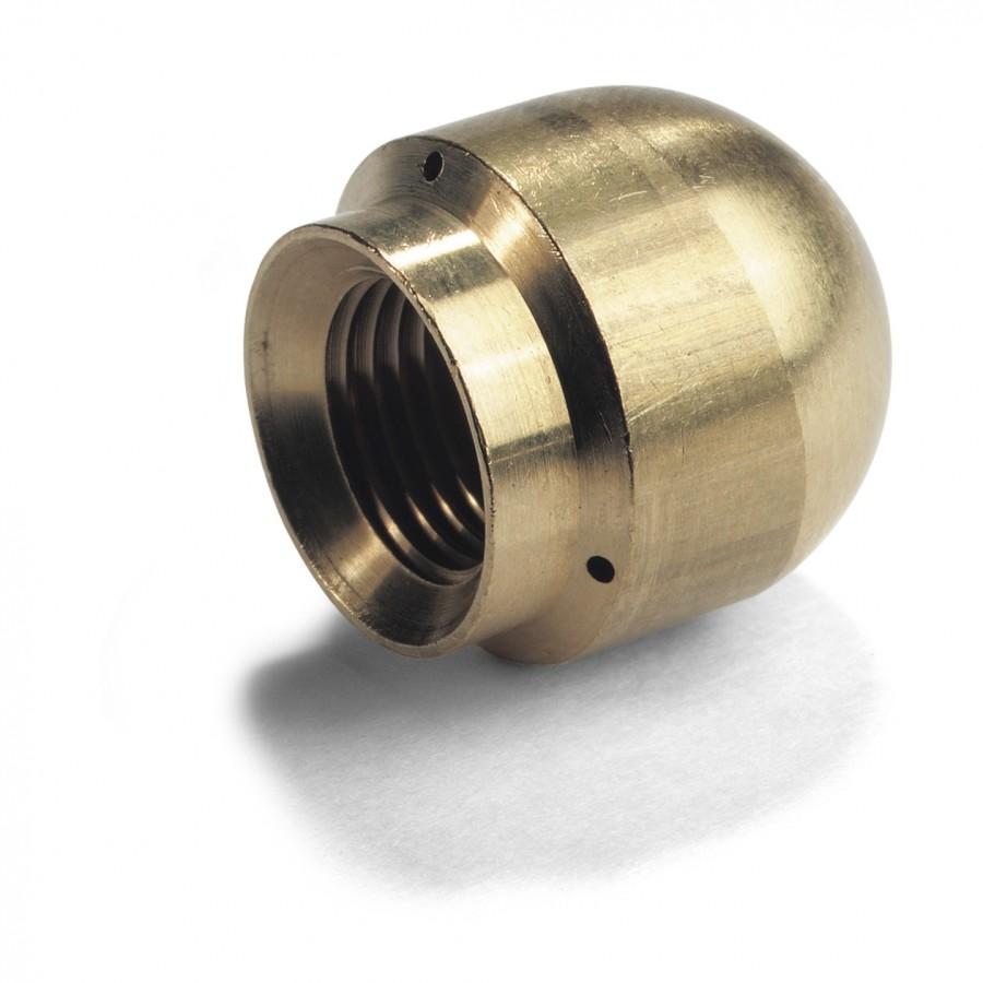 Сопло для промывки труб 060, 1 струя вперед, 3 x 30°, 16 мм