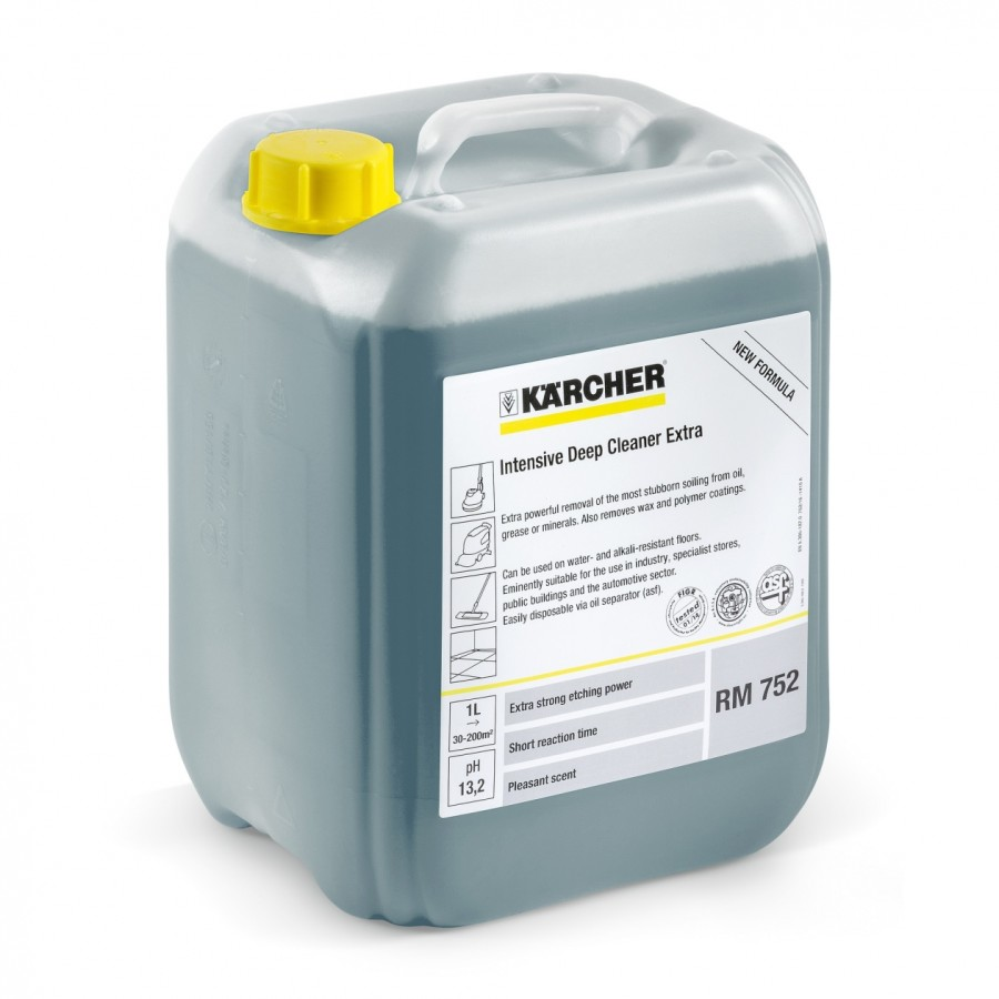 Интенсивное средство для общей чистки Extra RM 752, 10 литров.