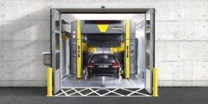 Портальные автомойки для легковых автомобилей