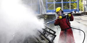 Оборудование для чистки сверхвысоким давлением
