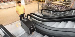 Машины для уборки лестниц и эскалаторов
