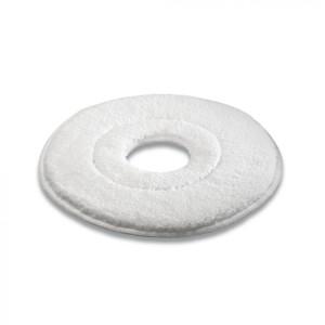 Микроволоконный пад, микроволокно, белый, 457 mm
