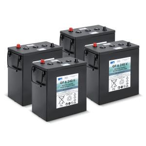 Комплект батарей, 24 V, 240 Ah, необслуживаемая