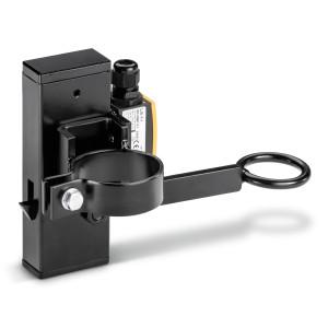 Держатель шланга для рабочего места, с конечным выключателем, Ø 75 мм