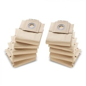 Бумажные фильтр-мешки Kaercher,10 шт.