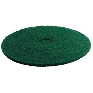 Пад, средне жесткий, зеленый, 356 mm