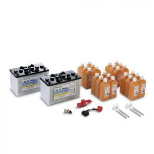 Комплект батарей, 24 V, 80 Ah, малообслуживаемая