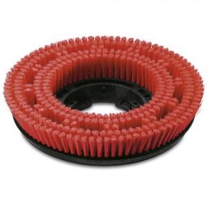 Дисковая щетка, средний, красный, 355 mm