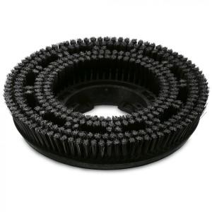 Дисковая щетка, жесткий, черный, 300 mm