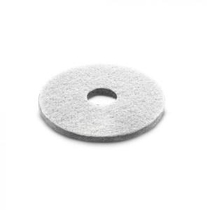 Алмазный пад, толстый, белый, 356 mm