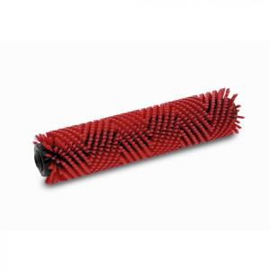Цилиндрическая щетка, средний, красный, 350 mm