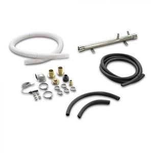 Комплект соединительных элементов для соединения с внешней буферной емкостью