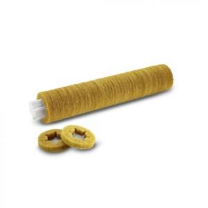 Втулка с роликовыми падами, мягкий, желтый, 350 mm