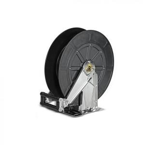 Автоматический барабан для шланга, из нерж. стали / пластмассы