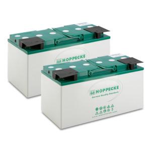 Комплект батарей, 24 V, 80 Ah, необслуживаемая