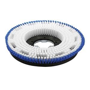 Щетка для шампунирования, средне мягкий, бело-голубой, 508 mm