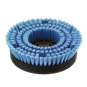 Щетка для шампунирования, средне мягкий, синий, 170 mm