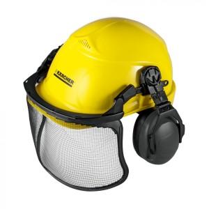 Каска защитный шлем комбинация