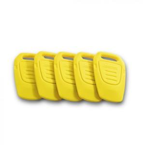 Комплект ключей для системы KIK, желтых
