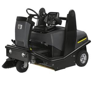 Подметально-всасывающая машина KM 120/150 R LPG