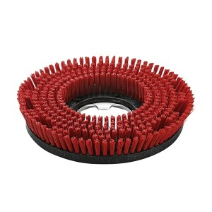 Дисковая щетка, средний, красный, 330 mm