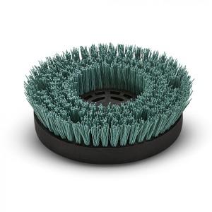 Дисковая щетка, жесткий, зеленый, 170 mm