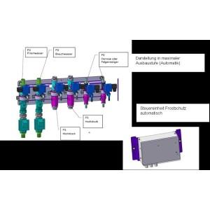 Расширение автоматической системы защиты от замерзания на систему оборотного водоснабжения